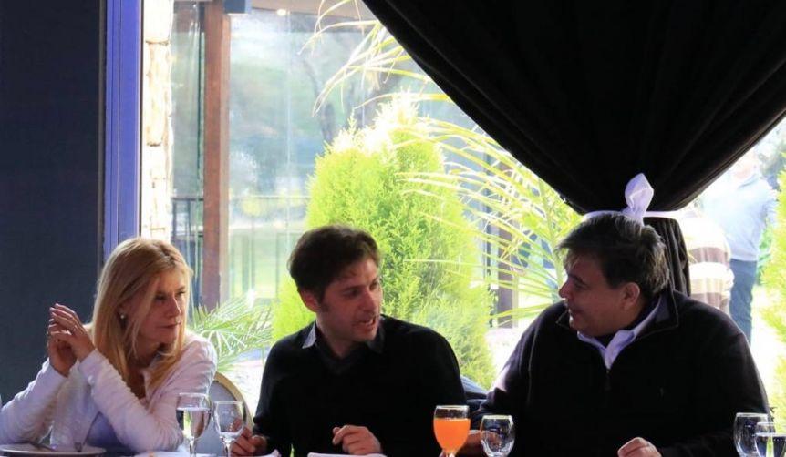 Kicillof y Magario encabezaron un encuentro con candidatos e intendentes de la Primera