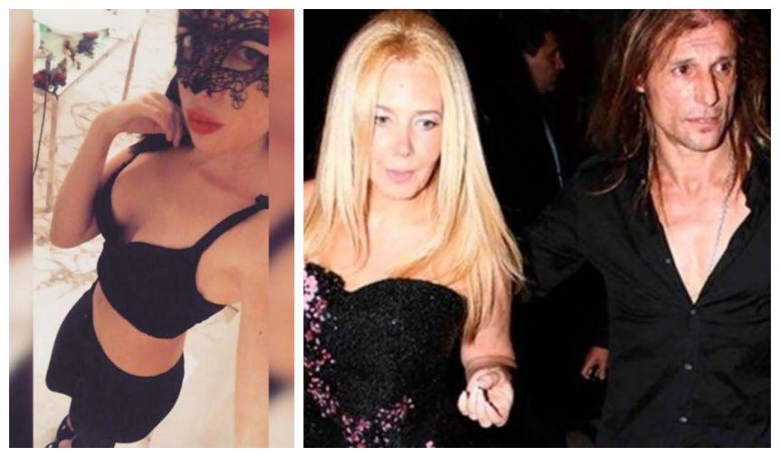 La supuesta novia de Claudio Paul Caniggia rompió el silencio: