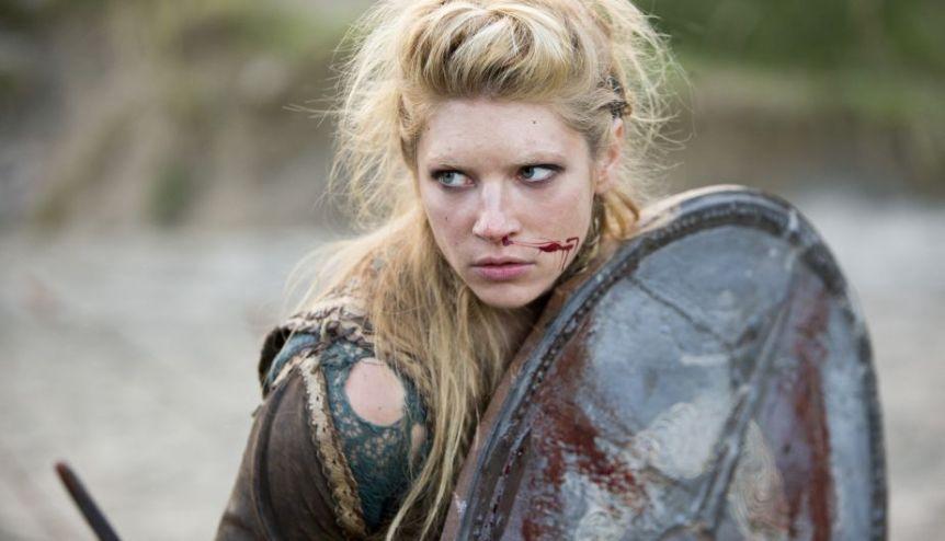 Lagertha de 'Vikingos' enamorada de la música de Jimena Barón