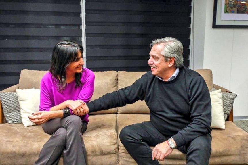 Alberto Fernández se reunió con la hija de José Manuel De la Sota y se acerca al PJ cordóbés