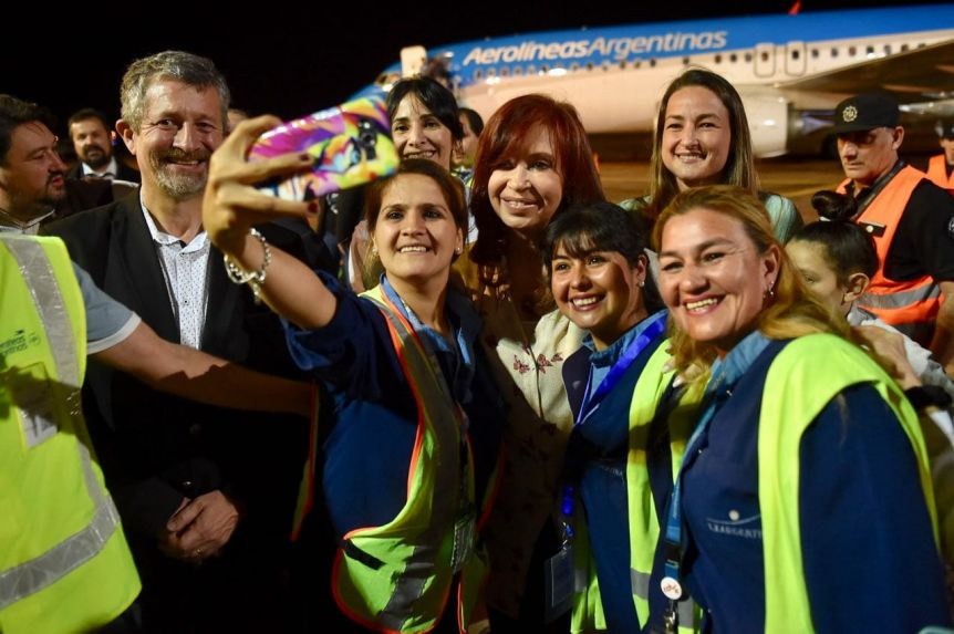 Cristina lleva el tour Sinceramente a Misiones