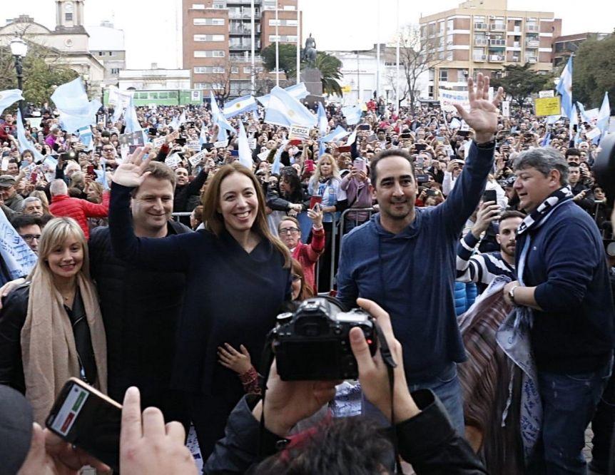 Tagliaferro, sorprendido y entusiasmado: Vidal, la rockstar de la Provincia