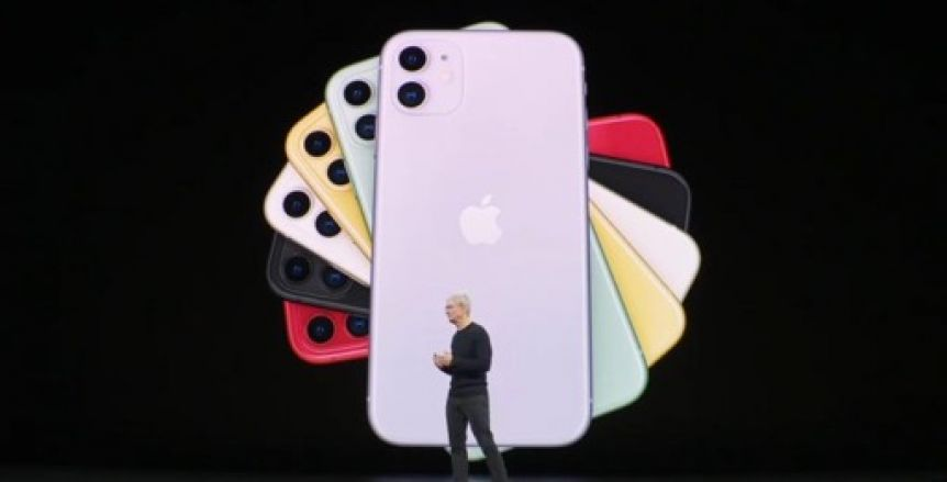 Con característica invencibles, Apple lanzó el iPhone 11