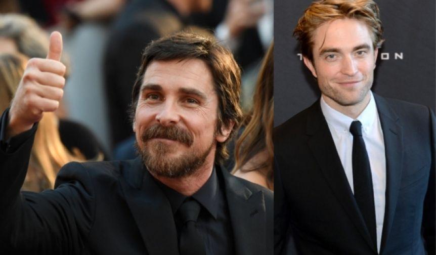 Christian Bale bancó a Robert Pattinson como el nuevo Batman