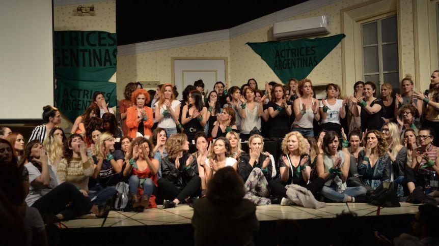 Actrices Argentinas hará una nueva denuncia por acoso sexual y maltrato en el ámbito de la cultura