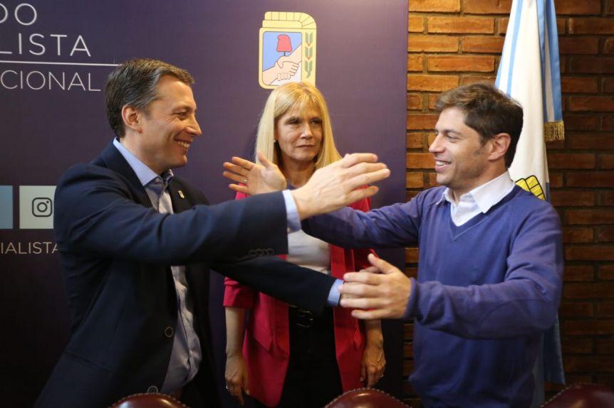 El PJ presentó la fórmula provincial y diseñaron la segunda etapa de la campaña