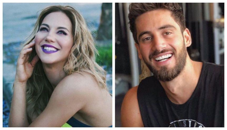 Flor Vigna respondió las críticas por besarse con su novio delante del ex: