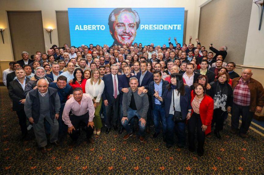 Con Perón en el recuerdo, Alberto Fernández cierra el proceso de unidad peronista