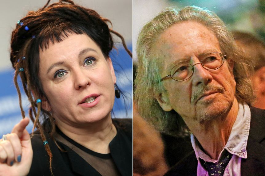 Olga Tokarczuk y Peter Handke, los ganadores del Nobel de Literatura