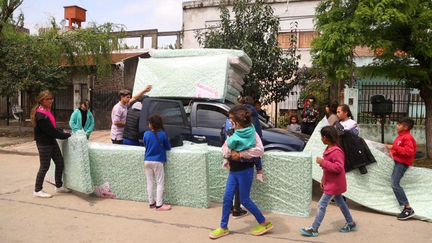 La Matanza inició el operativo retorno de los evacuados