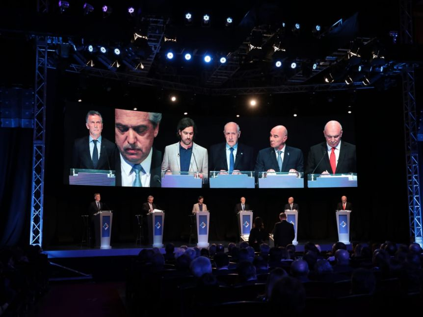 Los candidatos presidenciales debatieron antes de las elecciones generales del pr�ximo domingo