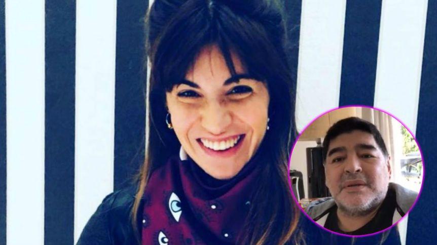 El tierno mensaje de Gianinna a Diego Maradona: