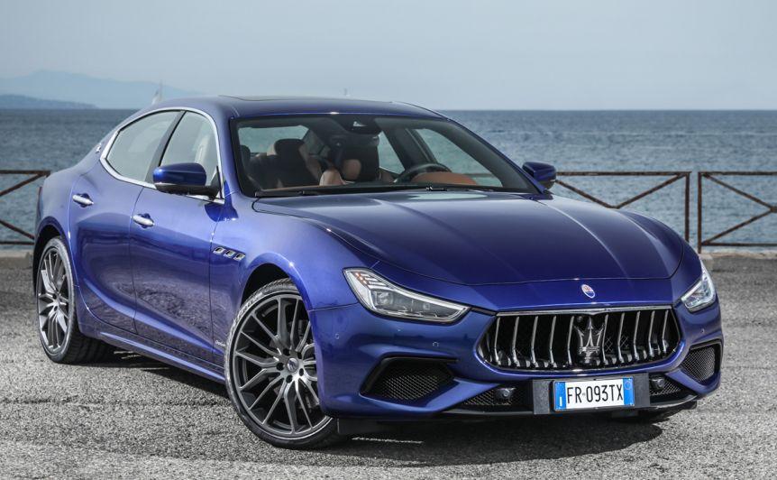 Llegó al país la Maserati Ghibli