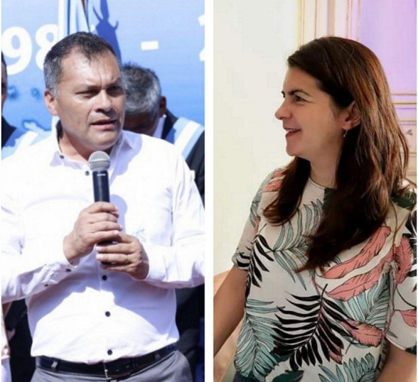 Tensión en la transición de Moreno: cruces entre Walter Festa y Mariel Fernández