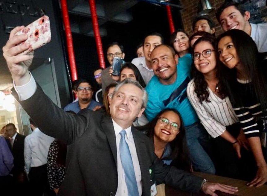 """En medio de la polémica con Bolsonaro, Alberto dijo: """"voy a seguir apoyando a las empresas nacionales"""""""