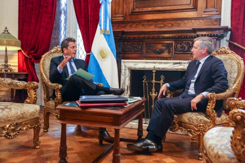 Emilio Monzó y Sergio Massa iniciaron la transición en la Cámara de Diputados de la Nación