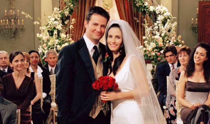 Después de 18 años, Mónica Geller y Chandler Bing se reencontraron en Instagram