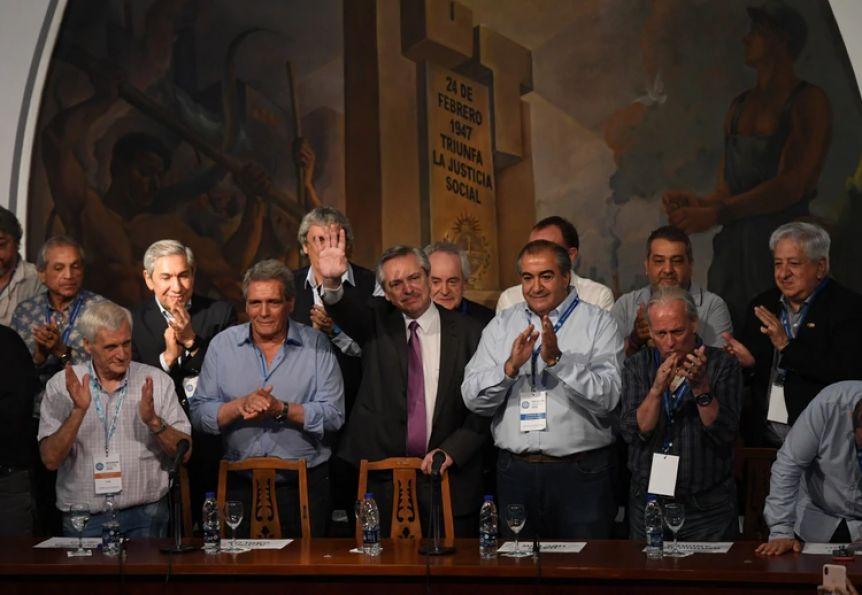 Alberto Fernández adelantó que el movimiento obrero