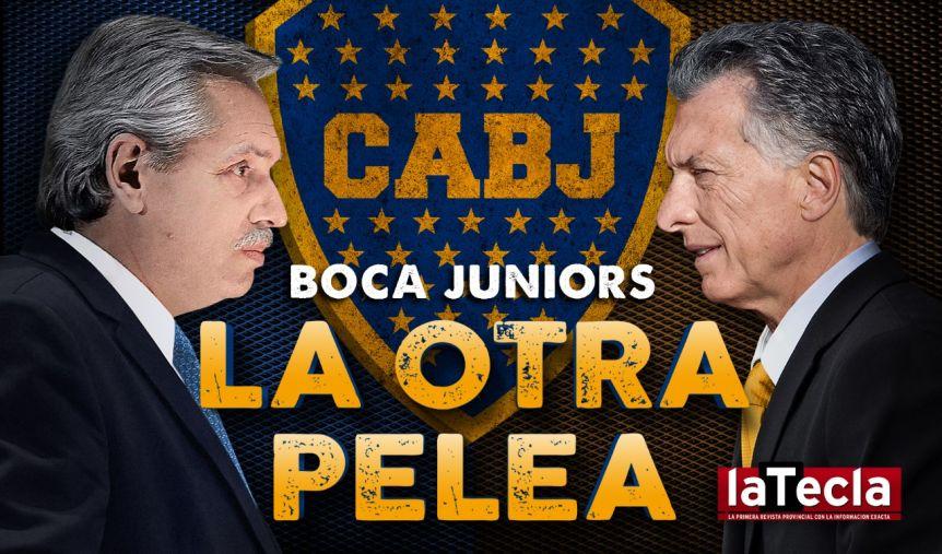 Boca, la otra pelea entre Alberto y Macri