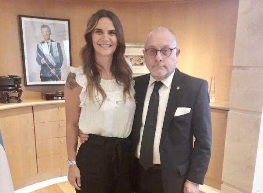 Amalia Granata se reunió con Jorge Faurie y estallaron las críticas