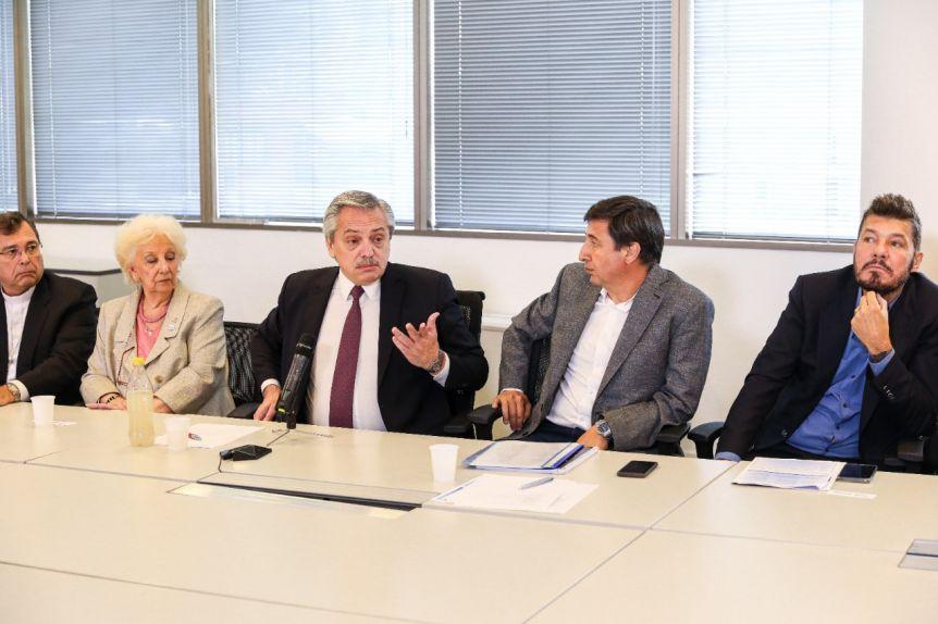 Tinelli debutó en el Gabinete de Alberto Fernández
