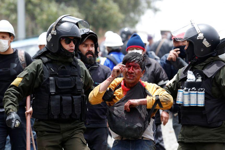 Al menos ocho muertos en las protestas en Bolivia