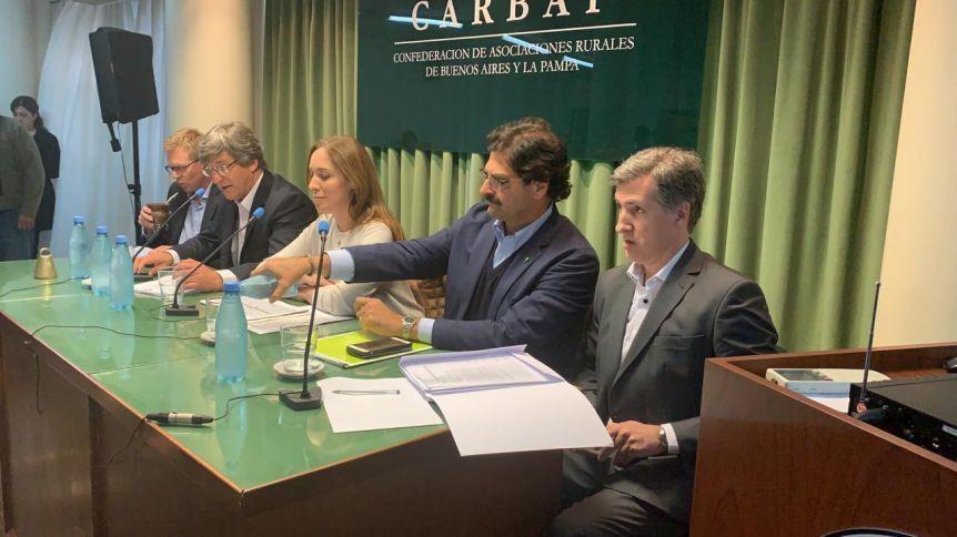 M�s all� del 10, Vidal quiere mantener viva una intensa agenda con los sectores agrarios