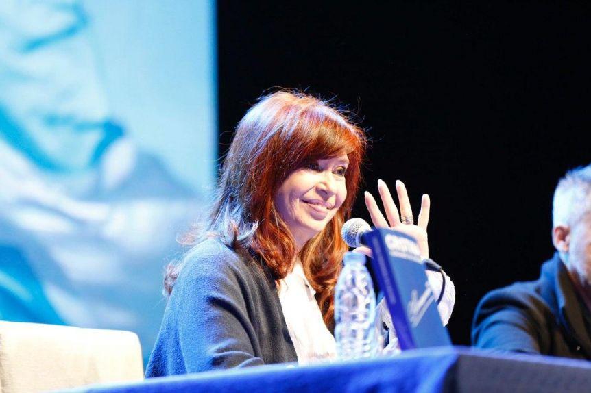 Cristina suspendió la presentación de su libro