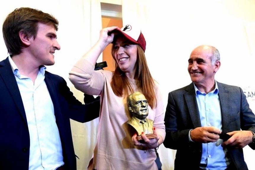 Vidal se aferra a la Juventud Radical para consolidarse como jefa de la oposici�n