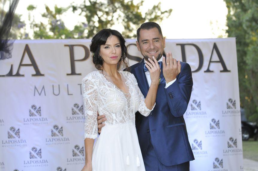 Tras dos años de noviazgo, se casó Mercedes Funes