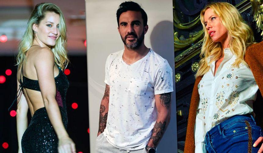 Fabián Cubero, Mica Viciconte y Nicole Neumann podrían coincidir en el Bailando 2020
