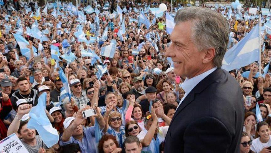 Macri se va del Gobierno con la �ltima intenci�n de llenar Plaza de Mayo para dar un mensaje interno