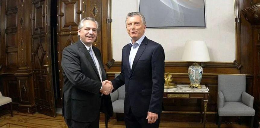 El último mano a mano de Macri y Alberto antes del cambio de Gobierno