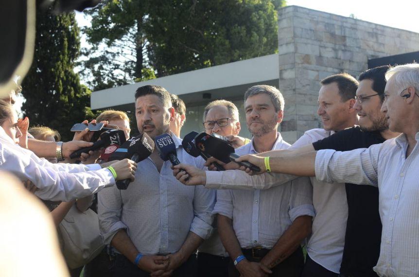 Los intendentes, más que satisfechos con el gesto de Kicillof