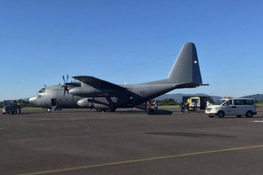 Desesperada búsqueda de un avión militar que trasportaba a 38 personas