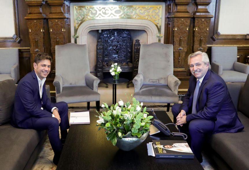 Kicillof se reunió con Alberto en la previa del tratamiento de la Ley Impositiva