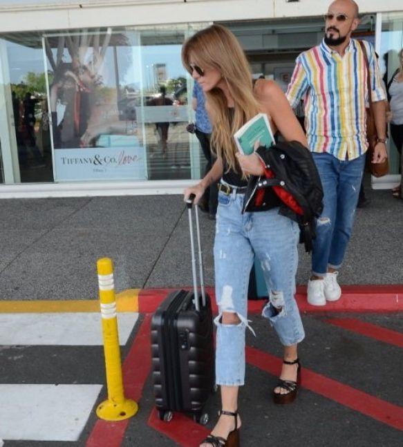 Abel Pintos y su novia viajaron a Punta del Este