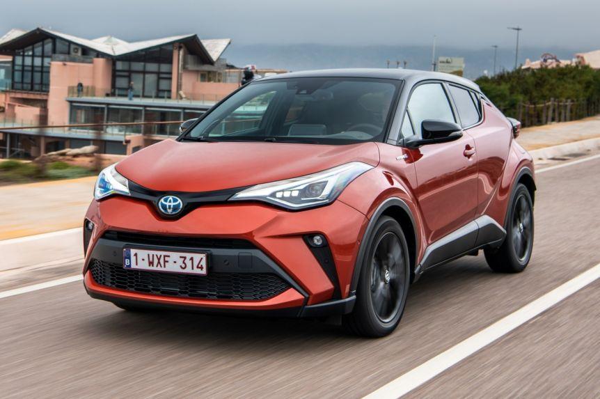 Toyota presentó el C-HR Hybrid
