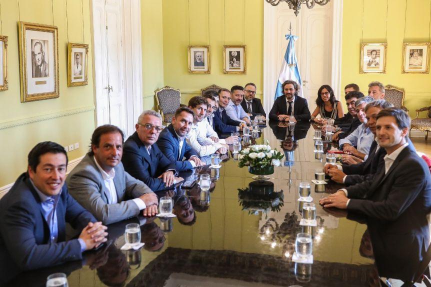 Intendentes del peronismo se reunieron con Cafiero para coordinar el control de Precios Cuidados