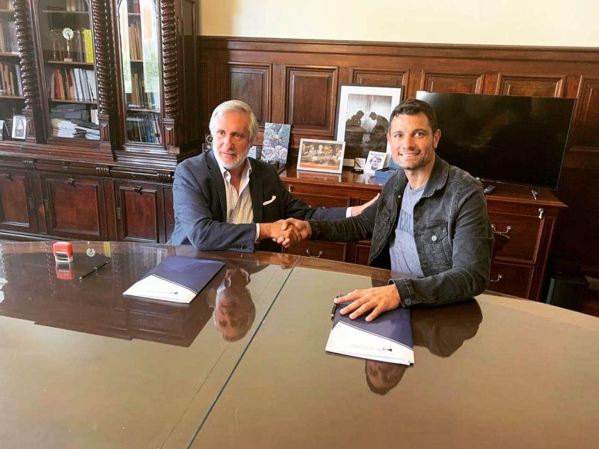 García y Conte Grand firmaron convenios para optimizar la prestación de servicios judiciales
