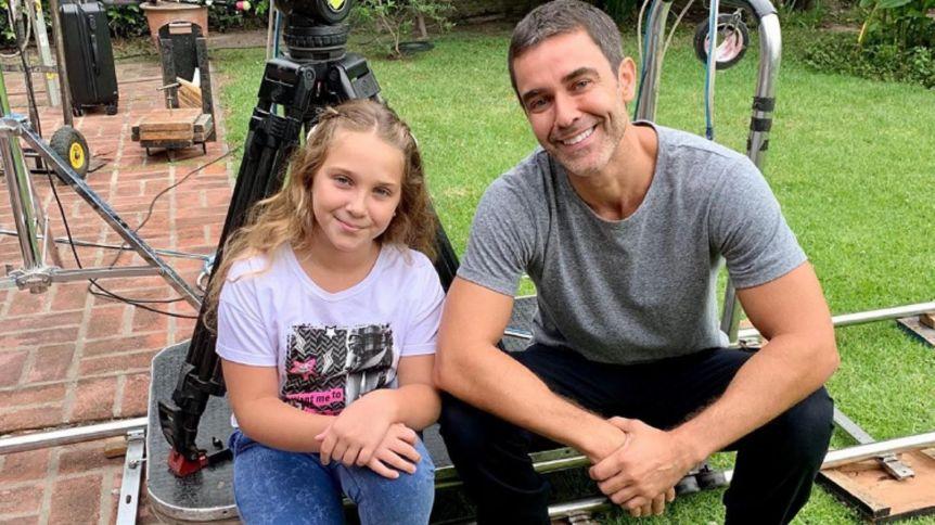 Olivia, la hija de Mariano Martínez, debutó como actriz en