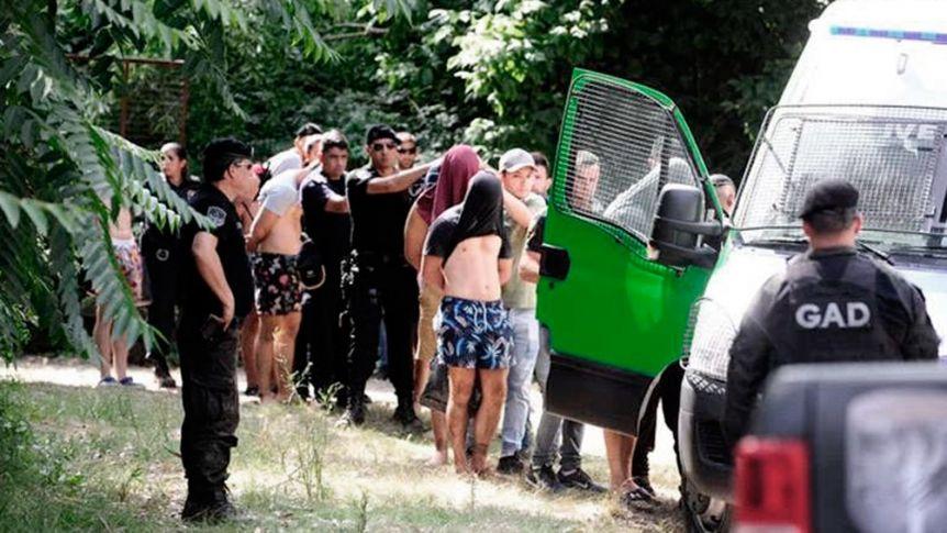 Comienzan las ruedas de reconocimiento de los 10 rugbiers detenidos