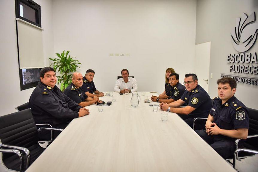 Sujarchuk presentó a las nuevas autoridades de la Policía y destacó el trabajo contra la inseguridad