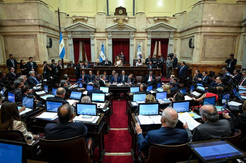 El Senado nacional convirtió en ley la reestructuración de la deuda pública externa