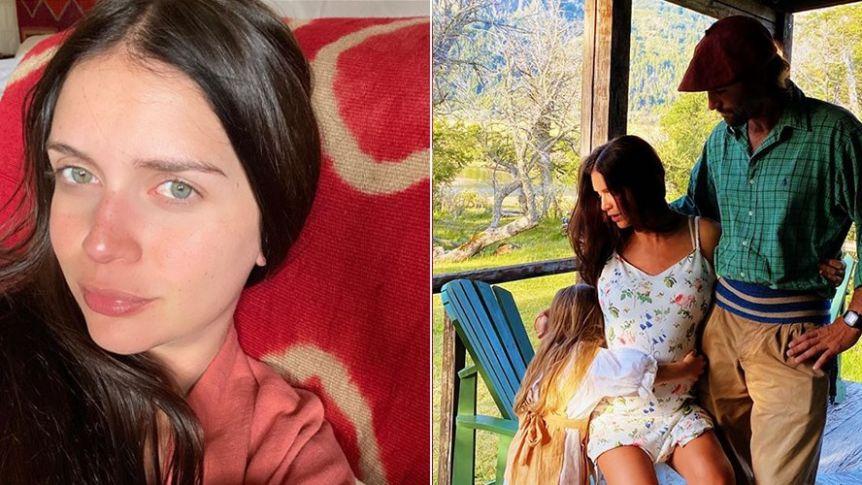Zaira Nara presentó a su hijo en redes y reveló el exótico nombre