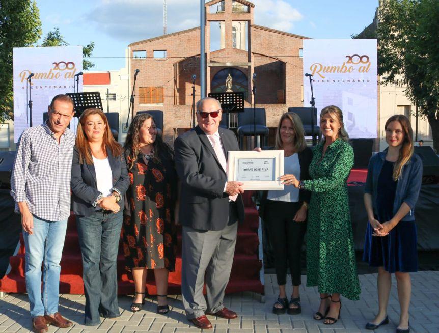Celebraron los 198 años de Cañuelas y reconocieron a distintas personalidades destacadas de la ciudad