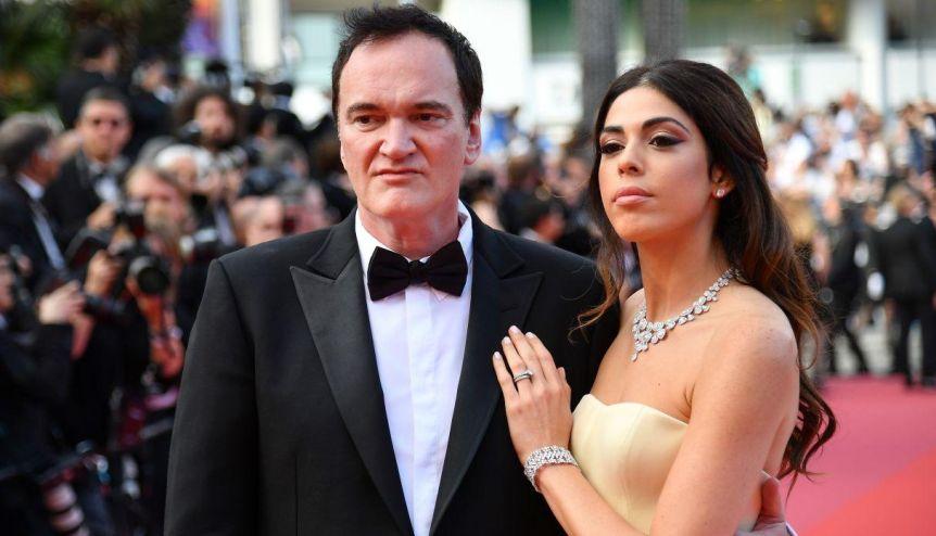 Quentin Tarantino recibió a su primer hijo