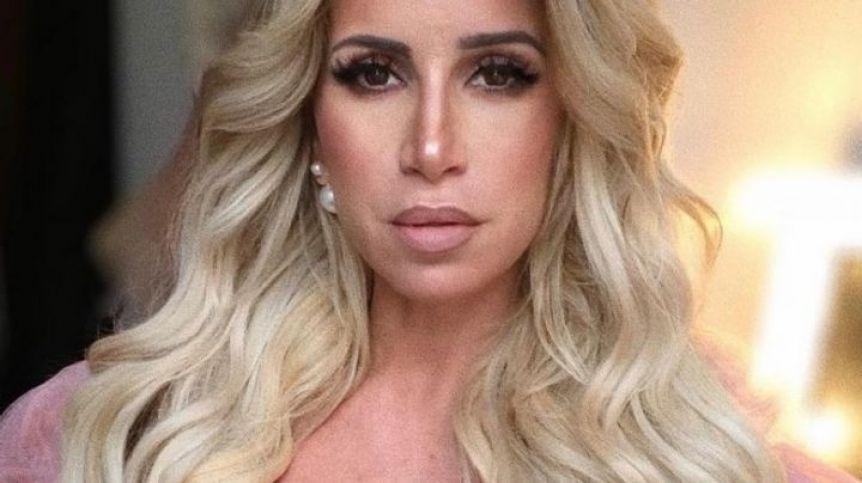 El look súper hot de Flor Peña para enfrentar la cuarentena