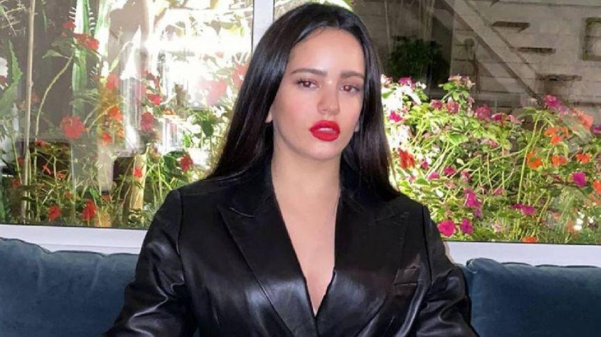 El posteo hot de Rosalía sin pijamas