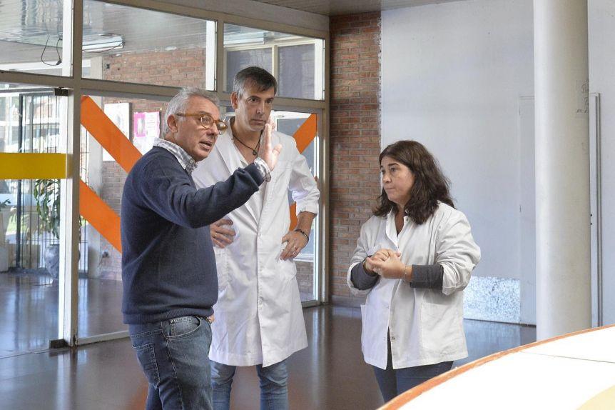 La Municipalidad de Tigre anunció obras para mejorar las instalaciones del Hospital de Pacheco